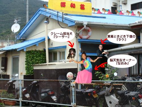 奄美大島のゲストハウス「昭和荘」のスタッフ