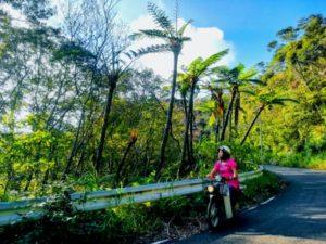 小さなバイクがよく似合う・カケロマ旅